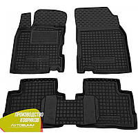 Резиновые коврики Nissan Qashqai 2014-2020 Avto-Gumm/ Ниссан Кашкай Авто-Гумм