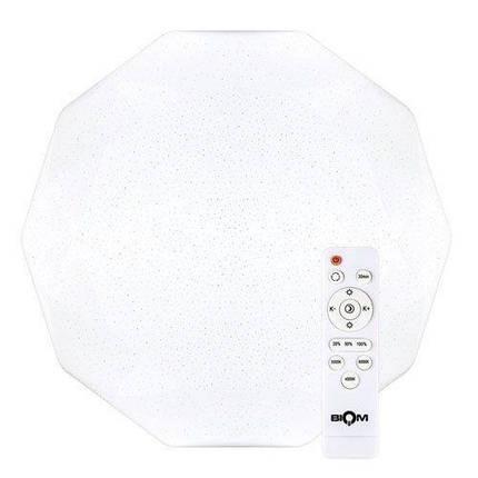 Світильник світлодіодний Biom SMART SML-R05-50 3000-6000K 50Вт з д/к, фото 2