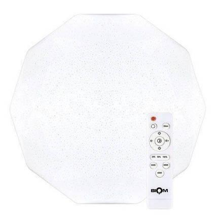 Світильник світлодіодний Biom SMART SML-R05-80 3000-6000K 80Вт з д/к, фото 2