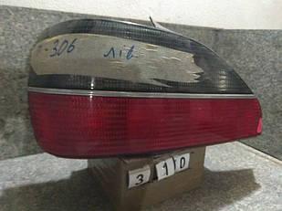 №310 Б/у фонарь задний лівий 635194 для Peugeot 306 1994-2001