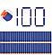 Набор из 100 стрел - липучек (мягкие пули) для игрушечного оружия Nerf N-Strike Elite, фото 6