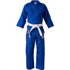 Кимоно для Дзюдо детское BlitzSport Lightweight Judo Suit - 283g Синее