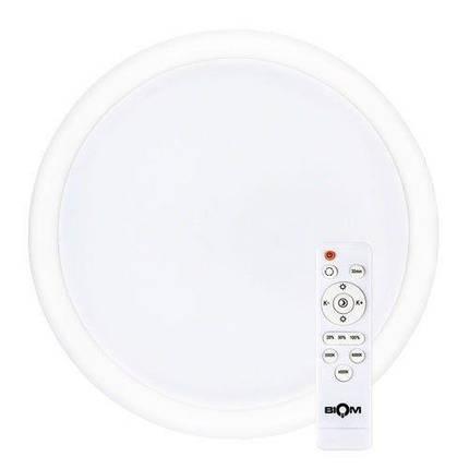 Світильник світлодіодний Biom SMART SML-R06-50 3000-6000K 50Вт з д/к, фото 2