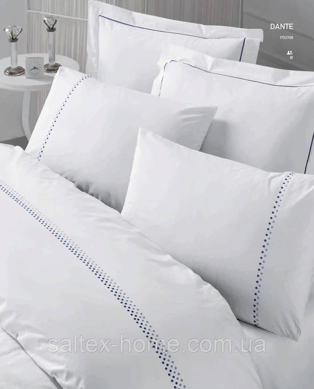 Двуспальный комплект постельного белья от Cotton Box с вышивкой