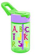 Пляшка для води HEREVIN ABC 0.43 л З трубочкою Зелений (161510-002)
