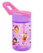 Пляшка для води HEREVIN FAIRY 0.43 л З трубочкою Рожева (161510-003)