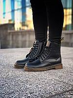 Женские ботинки Dr Martens С МЕХОМ