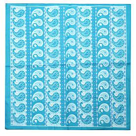 Бандана FAMO Оригинальная голубая 55*55 #L/A