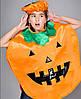 Детский карнавальный костюм на Хеллоуин Тыква