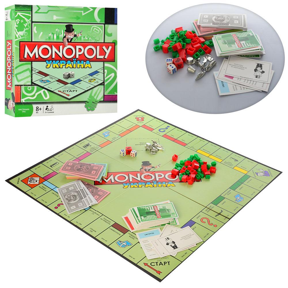 Настольная игра Монополия Joy Toy 6123UA Украинская версия