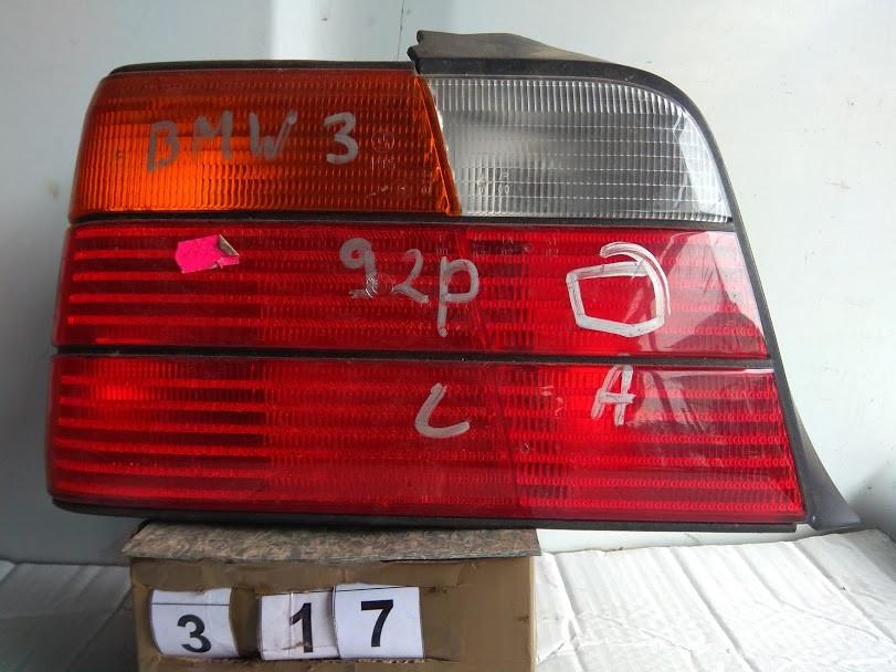 №317 Б/у фонарь задний лівий седан  63218371941 для BMW 3 Series 1990-1998