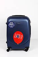 Чемоданы No brand Дорожный чемодан Бет синий средний Средний #L/A