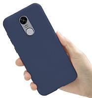 Чехол Style для Xiaomi Redmi Note 4X / Note 4 Global Version Бампер силиконовый Синий