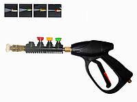 Пистолет Iron для мойки высокого давления Р*14 мм (4 насадки)