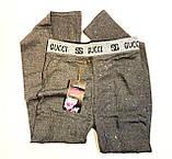 Люкс лосинки хлопковые женские Gucci, фото 3
