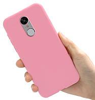 Чехол Style для Xiaomi Redmi Note 4X / Note 4 Global Version Бампер силиконовый Розовый