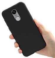 Чехол Style для Xiaomi Redmi Note 4X / Note 4 Global Version Бампер силиконовый Черный
