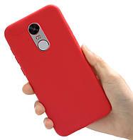 Чехол Style для Xiaomi Redmi Note 4X / Note 4 Global Version Бампер силиконовый Красный