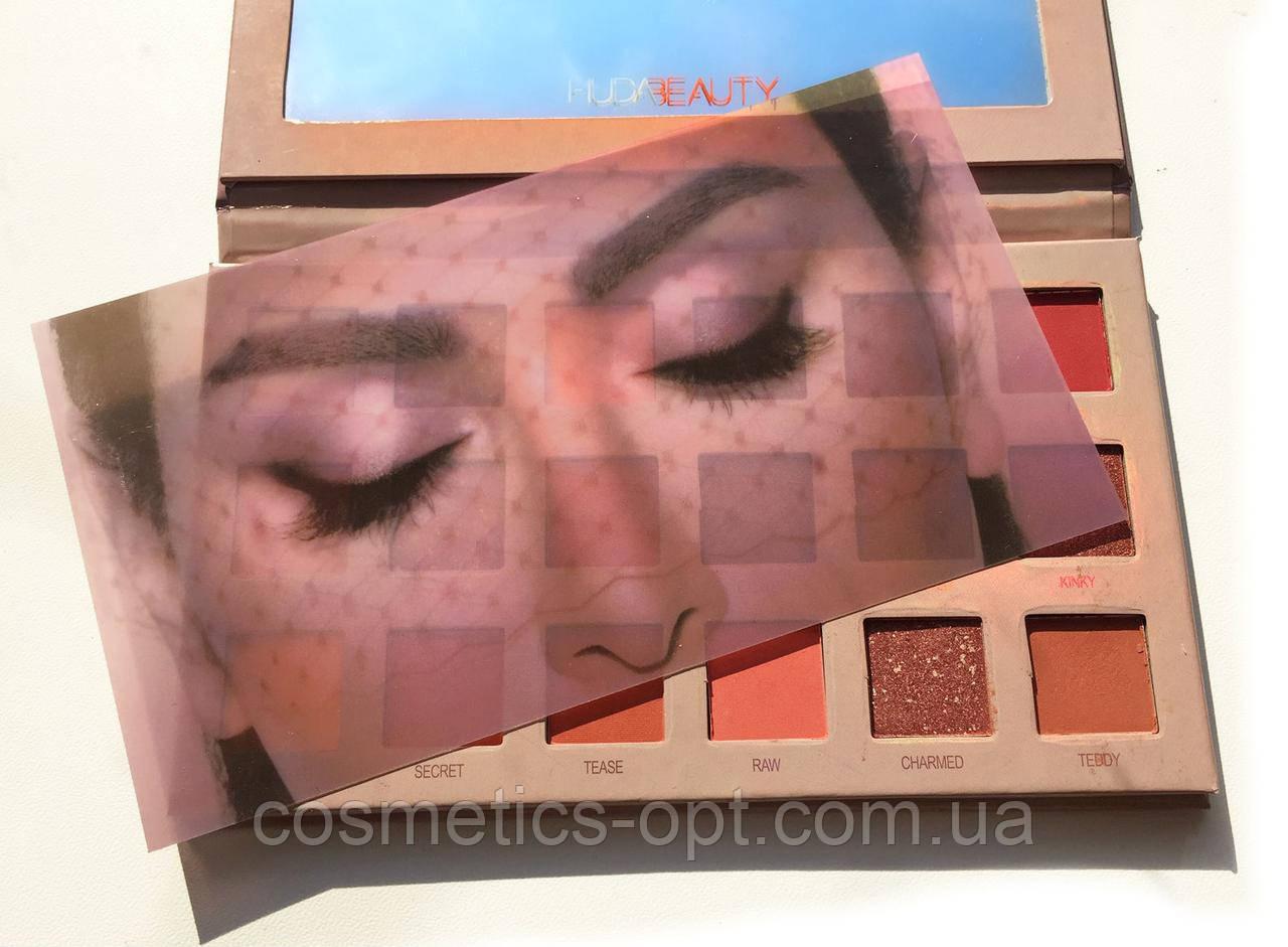 Тени для глаз HUDA BEAUTY The New Nude Eye Shadow Palette (реплика)