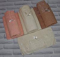 Полотенце банное мавхровое 135х65 см (Q-333)