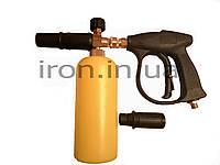 Пенный пистолет ( пенообразователь ) 2в1  для мойки высокого давления