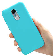 Чехол Style для Xiaomi Redmi Note 4X / Note 4 Global Version Бампер силиконовый Голубой