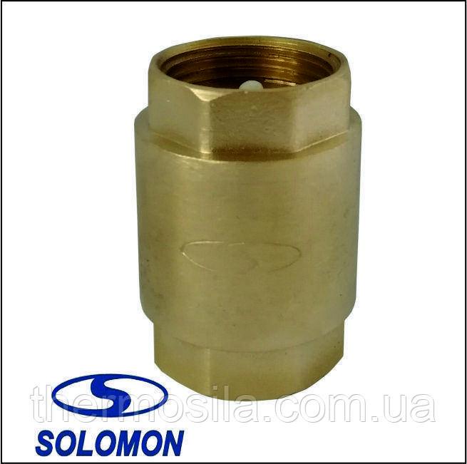 """Клапан обратного хода воды 1/2"""" Solomon (6021-6020)"""