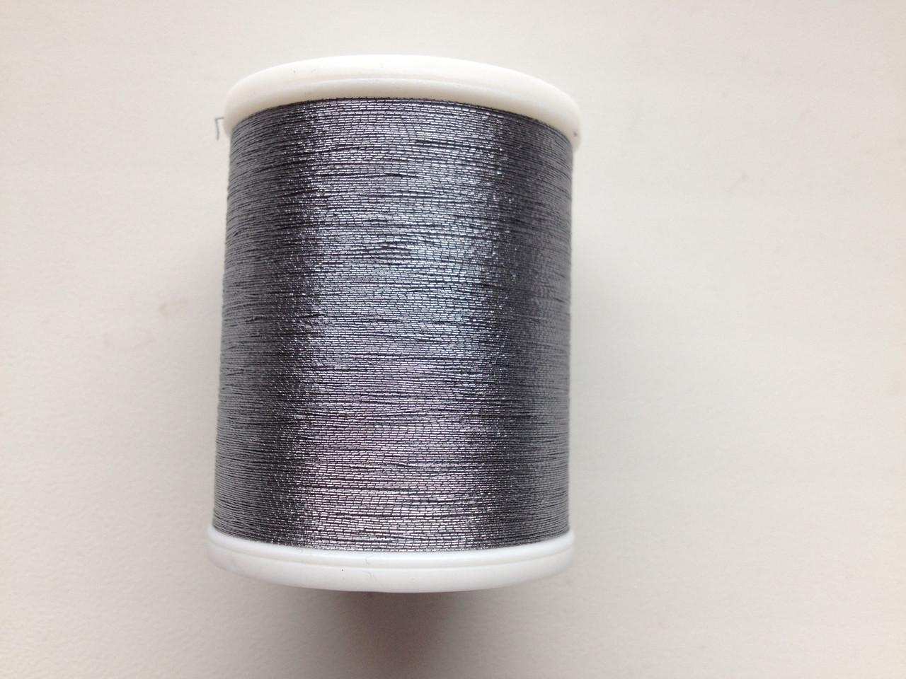 Нитки для машинной вышивки Madeira Metallic  №40.  цвет 4061 ( ПЛАТИНА ).  по 1000 м