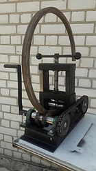 Трубогиб ручной профилегиб 80х80