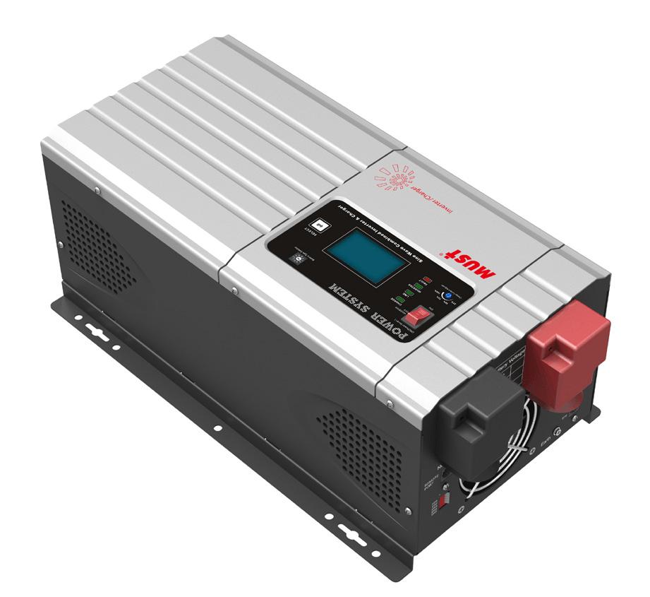 Бесперебойник инвертор 3000 Вт 24В Must EP30-3024 PRO автономный