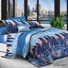 Комплект постельного белья евро размер 3д Наволочки 70*50