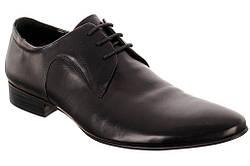 Стильные туфли на шнурках ROZOLINI AB4-13-C81  45  черный