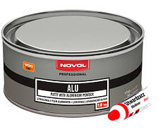 Шпатлёвка с алюминием Novol Alu 1.8кг