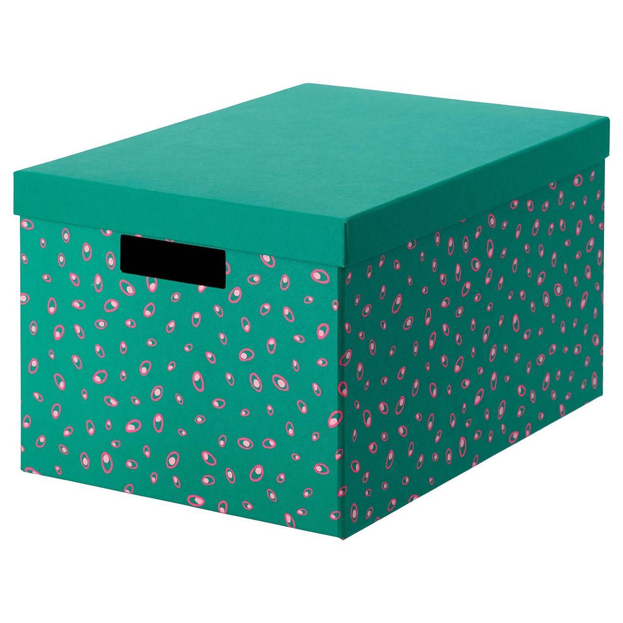 Коробка с крышкой IKEA TJENA 604.340.57
