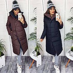 Курточка двухсторонняя. Размер: 42-44 и 46-48. Разные цвета.(21407)