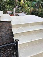 Бетонные фасадные ступени Мегалит 345х345х30, фото 1