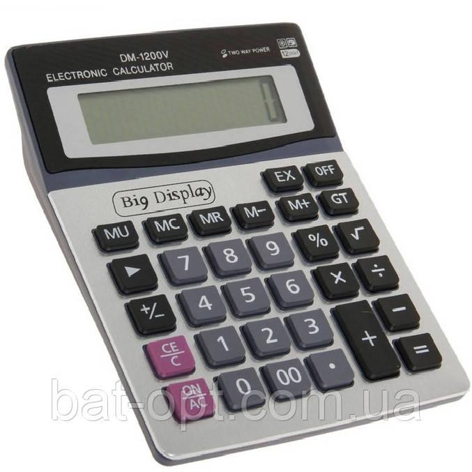 Калькулятор настольный DM-1200 12-разрядный ( 192х147х42мм)