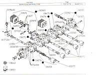 030551 Ремкомплект главного распределителя Merlo ROTO