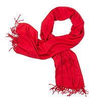 Палантин кашемировый красный (Ш-511-3)