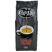 Кофе в зернах Caffe Poli espresso italiano, 1 кг 50/50