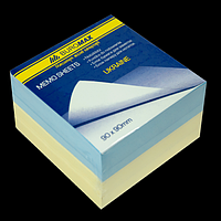 "Блок паперу для нотаток ""Україна"" 90х90х60мм, склеєний"
