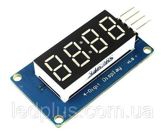 Модуль семисегментных индикаторов  4 разряда TM1637