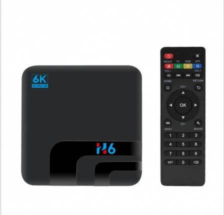 ТВ бокс приставка H6 (H6 4+32 Android 8.1), фото 2