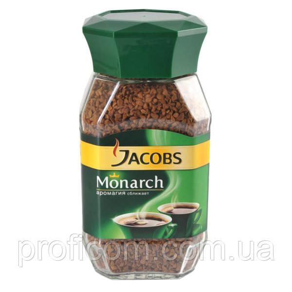 Кофе растворимый Jacobs Monarch 95г (стекло)