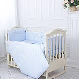 Детский постельный комплект Маленькая Соня Принц сатин 6 и 7 элементов, фото 2