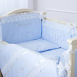 Детский постельный комплект Маленькая Соня Принц сатин 6 и 7 элементов, фото 4