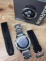 Новые Спортивные Часы Garmin Fenix 5 Plus + металлический ремешок