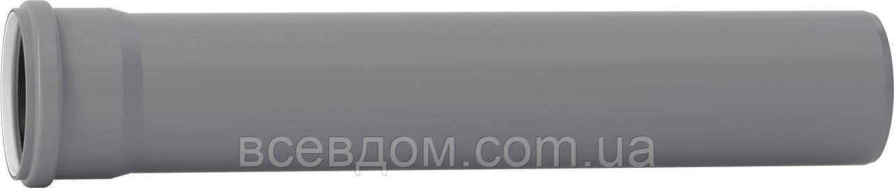 Труба для внутренней канализации  Valsir PP3 ∅110 L=1000 мм