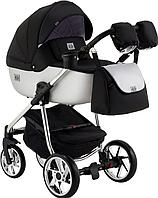 Детская универсальная коляска 2 в 1 Adamex Hybryd Plus Polar BR615, фото 1