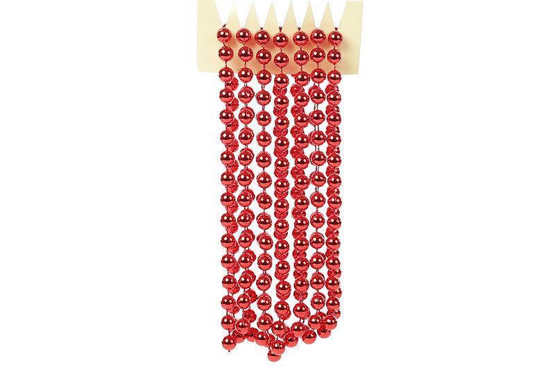 Бусы пластиковые Bonita Красный 10 мм * 2,7 м ( 147-484)